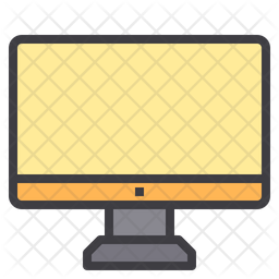 Personal Computer Icon Of Colored Outline Style Available In Svg Png Eps Ai Icon Fonts