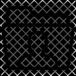 Personal folder Line Icon
