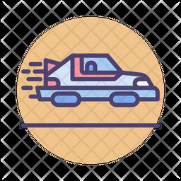 Personal Hovercar Icon