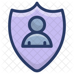 Personal Protection Shield Icon