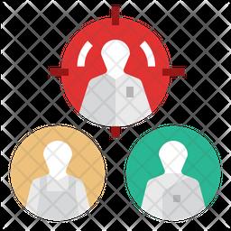 Personalization Marketing Flat Icon