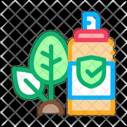 Pesticide Spray Bottle Icon