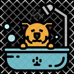 Pet Bath Icon
