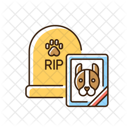 Pet funeral service Icon