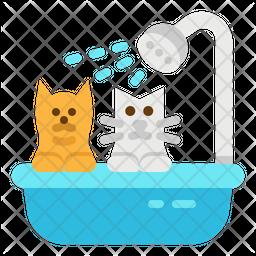 Pet Grooming Flat Icon