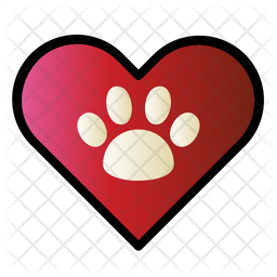 Pet Lover Colored Outline Icon