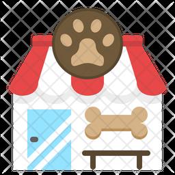 Pet Shop Flat Icon