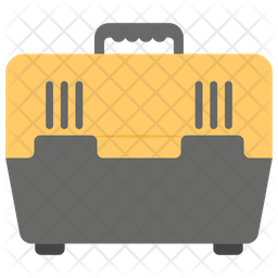 Pet Travel Crate Icon