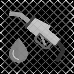 Petrol Flat Icon