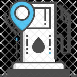 Petrol Pump Location Icon