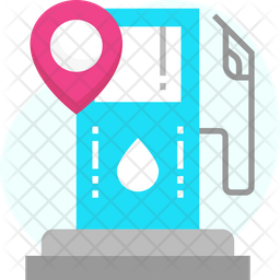 Petrol Pump Location Icon