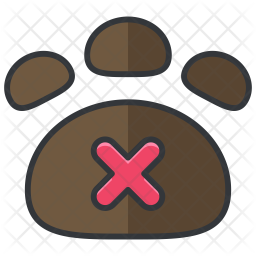 Pets prohibited Icon