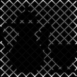 Pewter flagon Icon