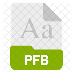 Pfb file Icon