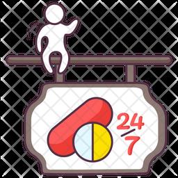 Pharmacy Board Icon