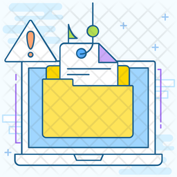 Phishing Colored Outline Icon
