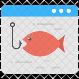 Phishing attack Icon
