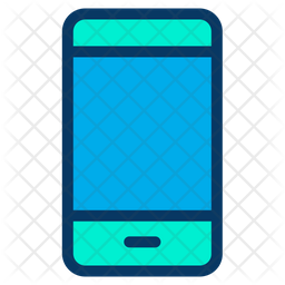 Phone Colored Outline Icon