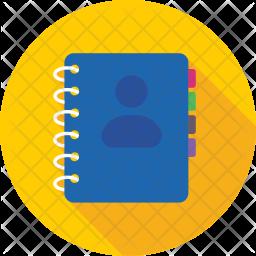 Phone book Icon