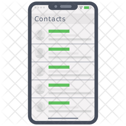 Phone Contacts Icon