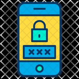 Phone password Icon