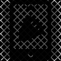 Phone Volume Glyph Icon