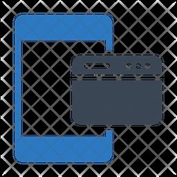 Phone Web Flat Icon
