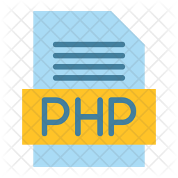 Php File Flat Icon