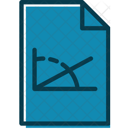 Physics Document Colored Outline Icon