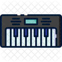 Piano Icon Of Colored Outline Style Available In Svg Png Eps Ai Icon Fonts