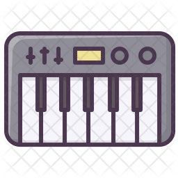 Piano, Music, Sound, Play, Syntesizer, Appliances, Device Icon png