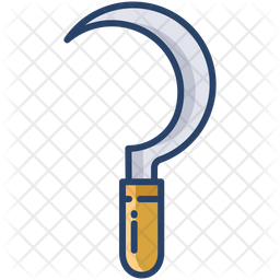 Pickaxe Colored Outline Icon