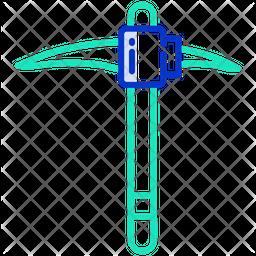 Pickaxe Line Icon