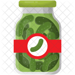 Pickled Cucumbers Icon