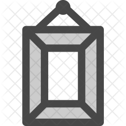Picture Colored Outline Icon