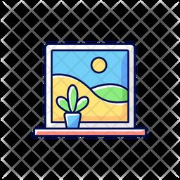 Picture windows Icon