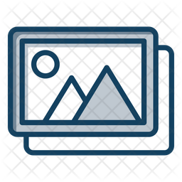 Pictures Gallery Icon Of Colored Outline Style Available In Svg Png Eps Ai Icon Fonts