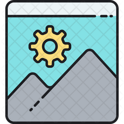 Pictures optimization Icon