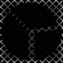 Pie Chart Logo Icon