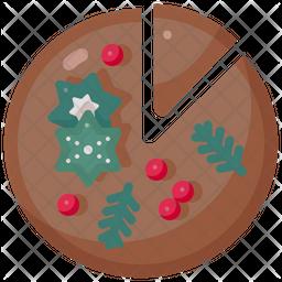 Pie Chocolate Icon