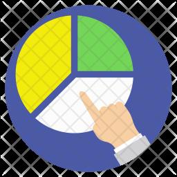 Pie-Graph Analysis Icon