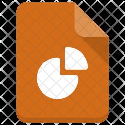Pie-graph file Icon