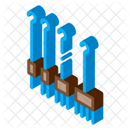 Piercing Hooks Icon