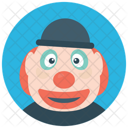 Pierrot Clown Icon