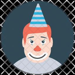 Pierrot Clown Icon