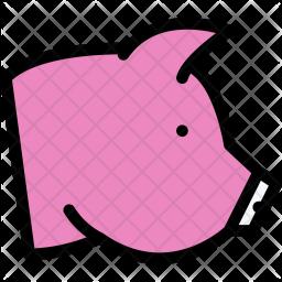 Pig, Pet, Animal, Vet, Store, Zoo Icon