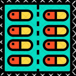 Pills Tablet Icon