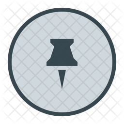 Pin Icon Of Rounded Style Available In Svg Png Eps Ai Icon Fonts