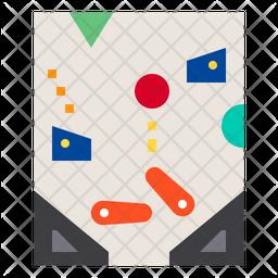 Pinball Flat Icon