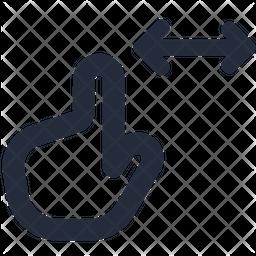 Pinch horizontal Icon